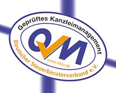 Logo Geprüftes Kanzleimanagement